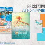 DESIGN : LADIES NIGHT OUT AND SELF LOVE AFTER THE STORM FLYERS