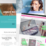 WEBSITE DESIGN : DOCTORS, BEAUTY, AND POWER COUPLES